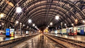 Trains europe train stations cities railway station Wallpaper