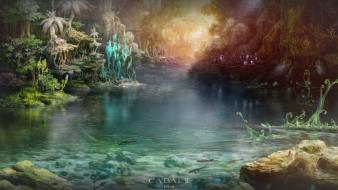 Video games artwork mmorpg cabal 2 wallpaper