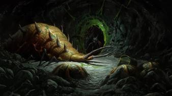 Video games cave diablo bugs ii wallpaper