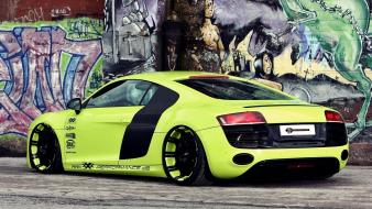 Wall cars audi r8 painting wallpaper