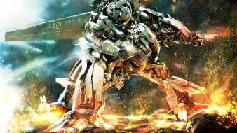 War transformers robot wallpaper