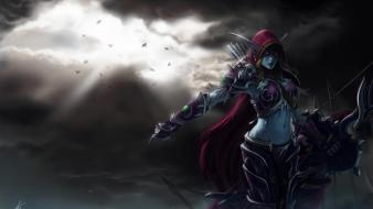 World of warcraft undead sylvanas windrunner wallpaper