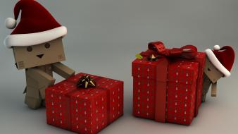 Amazon hats santa grey background boxes hat wallpaper