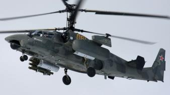 Artwork kamov ka-52 alligator wallpaper