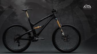 Black bicycles yeti suspension foxes mountainbike Wallpaper
