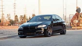 Bmw streets cars outdoors roads vehicles m5 wallpaper