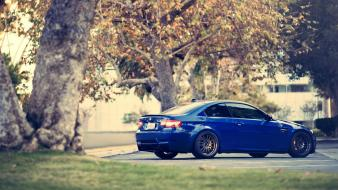 Bmw trees cars vehicles m3 e92 Wallpaper