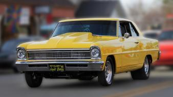 Cars chevy nova wallpaper