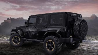 Clouds dragons cars design jeep wrangler jeeps backview Wallpaper