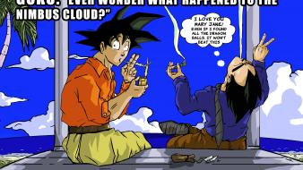 Dragon ball z hashish memes nimbus cloud wallpaper