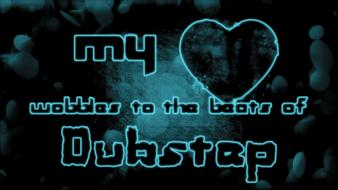 Dubstep hearts beats wallpaper