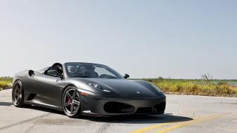 F430 spider sports grey exotic adv1 wheels wallpaper