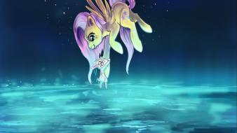 Fluttershy my little pony: friendship is magic angel wallpaper