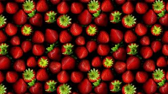 Fruits strawberries berry many wallpaper