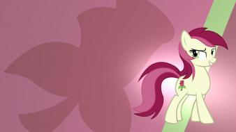 Gradient my little pony: friendship is magic roseluck wallpaper