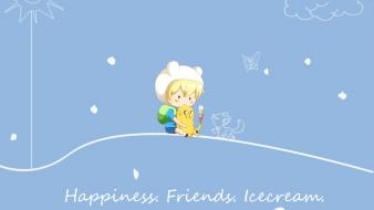 Ice cream adventure time finn and jake wallpaper