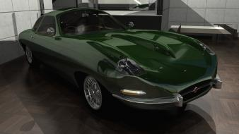 Jaguar cgi british racing e-type csci236 automobile wallpaper