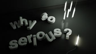 Joker cinema 4d why so serious? illumination wallpaper