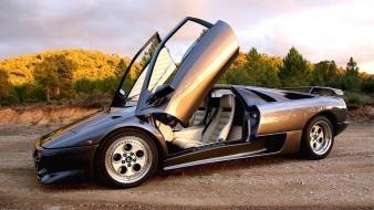 Lamborghini diablo roadster vt wallpaper