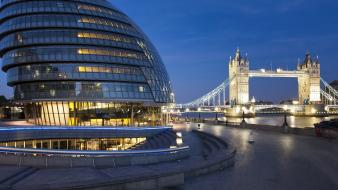 Landscapes nature england london city hall tower bridge Wallpaper