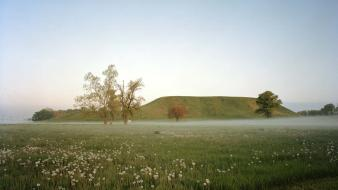 Landscapes nature national geographic illinois cohokia wallpaper