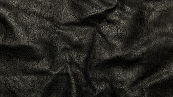 Leather black textures Wallpaper