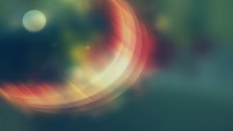 Light blurred colors shine wallpaper