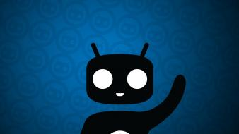 Linux android unix google .hack cyanogenmod cyanogen hackdroid Wallpaper