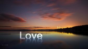 Love peace hope wallpaper