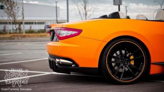 Maserati grancabrio dmc cars 2012 wallpaper