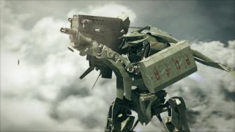 Mech mecha cgi spaceships battles screens planzet wallpaper