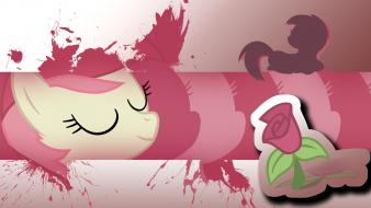 My little pony: friendship is magic roseluck wallpaper