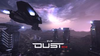 Outer space eve online refinery dust 514 wallpaper