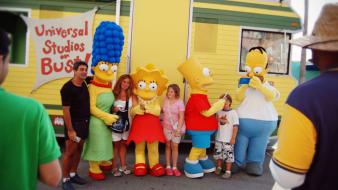 Simpsons simpson movie fun theme park orlando wallpaper