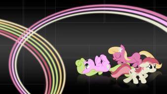 Sisters my little pony: friendship is magic background wallpaper