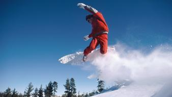 Sports snowboarding wallpaper