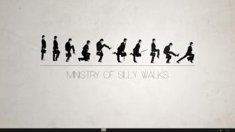 Text monty python silly walk wallpaper