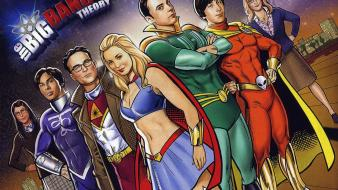 The big bang theory (tv serie) artwork drawings Wallpaper