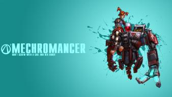 Video games borderlands 2 mechromancer wallpaper