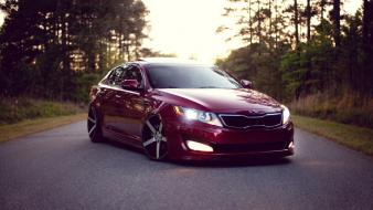 Wheels kia vossen optima cars 2012 wallpaper