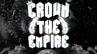 White clouds dark earth crown the empire wallpaper