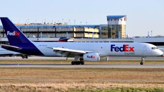 Aircraft cargo aircrafts fedex bussines spring wallpaper