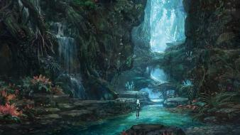 Art korean tera concept mmo mmorpg environment wallpaper