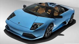Blue cars lamborghini reventon wallpaper