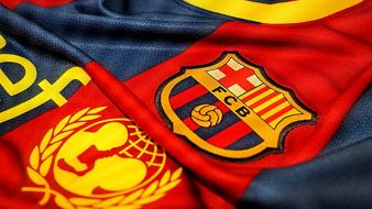 Blue red barca wallpaper