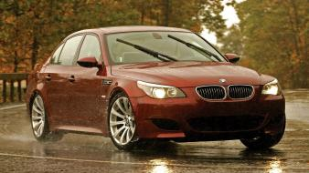 Bmw red cars wallpaper