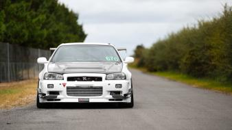 Cars nissan tuning skyline time attack gtr wallpaper