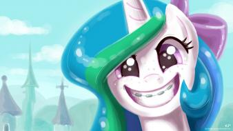 Celestia my little pony: friendship is magic wallpaper