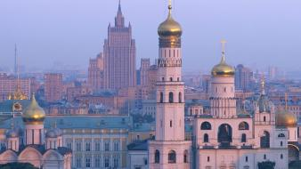 Cityscapes russia moscow cities Wallpaper