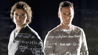 Eppes charlie rob morrow david krumholtz numb3rs wallpaper
